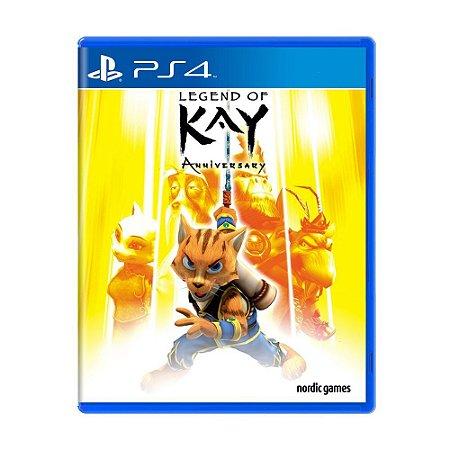 Legend of Kay: Anniversary PS4 - Usado