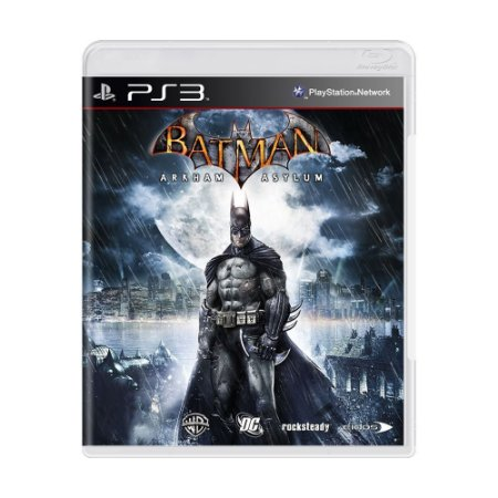 Batman Arkham Asylum PS3 - USADO