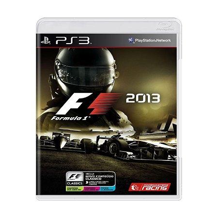 F1 2013 Edição Classica PS3 - USADO