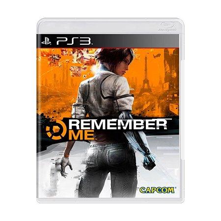 Remember Me PS3 - USADO