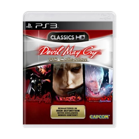 Devil May Cry HD Collection PS3 - USADO
