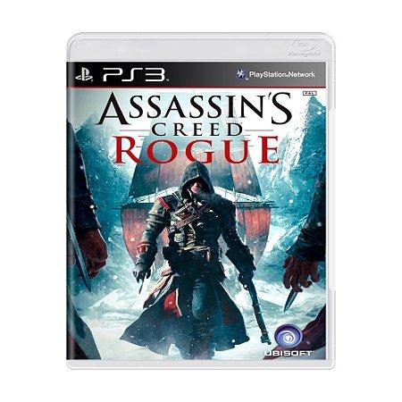 Assassins's Creed Rogue Ps3 - USADO
