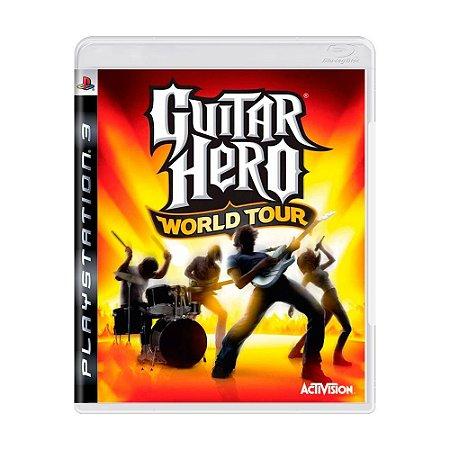 Guitar Hero World Tour Ps3 - USADO