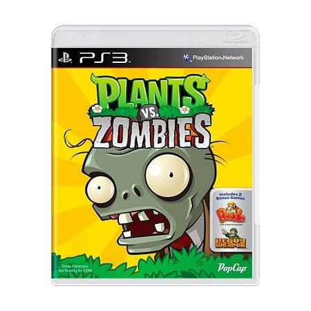 Plants vs Zombies Ps3 - USADO