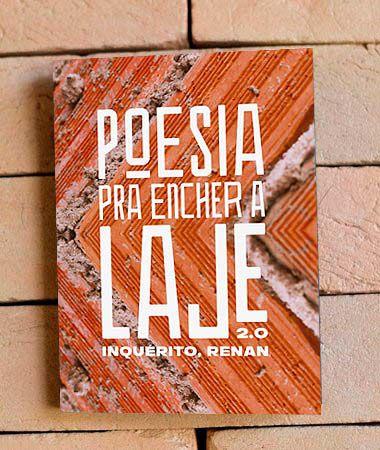 Livro Poesia Pra Encher a Laje 2.0 | INQUÉRITO, Renan