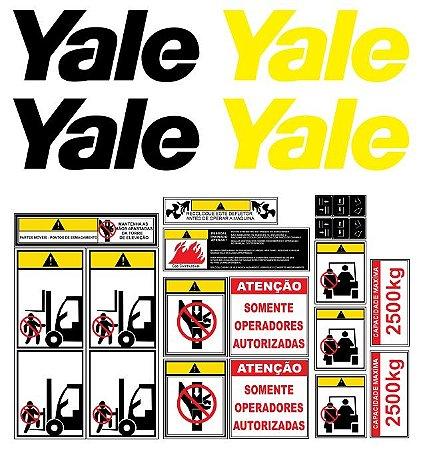 Kit De Adesivos Para Empilhadeiras Yale G83P