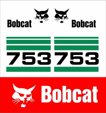 Kit Adesivo Bobcat 753