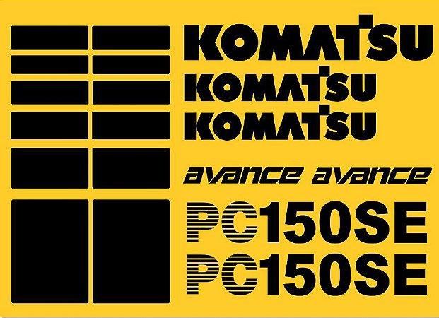KIT ADESIVO KOMATSU PC 150SE