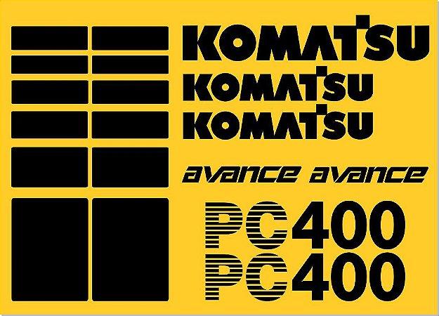 KIT ADESIVO KOMATSU PC400 AVANCE