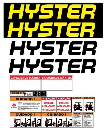 KIT ADESIVO HYSTER 60 XM