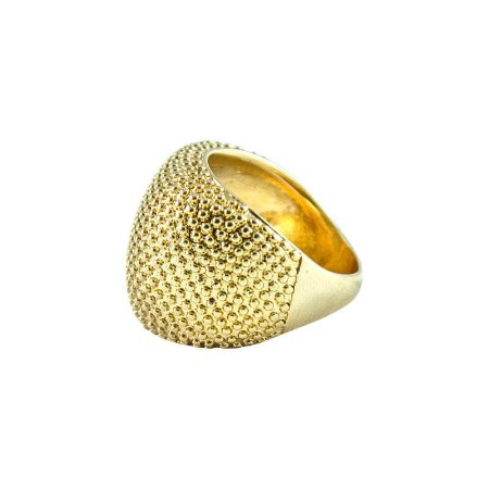Anel Mini Esferas Folheado a Ouro 18k Semi Joias