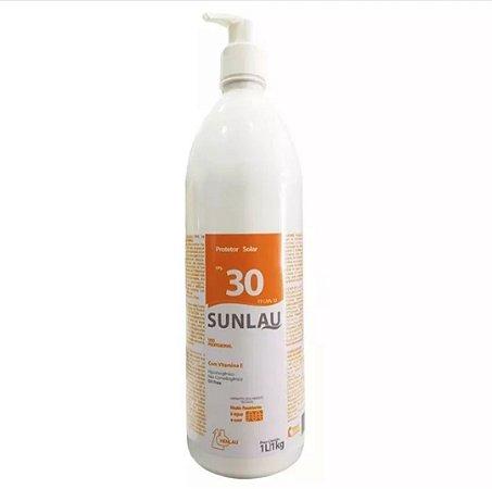 Protetor Solar Profissional FPS 30 Com Vitamina E - 1 Litro
