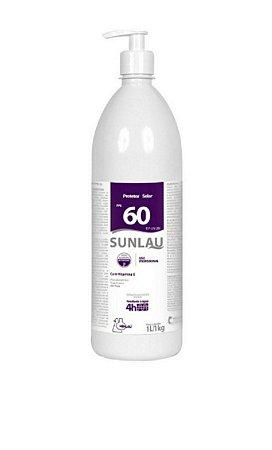 Protetor Solar Profissional FPS 60 Com Vitamina E - 1 Litro