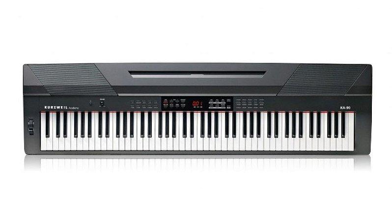 Piano Digital Kurzweil 88 Teclas KA90 Arranjador