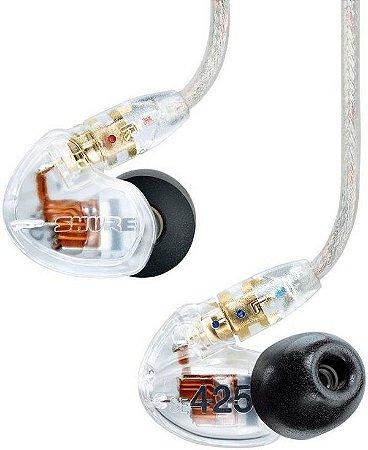 Fone De Ouvido Shure Se425-Cl In-Ear