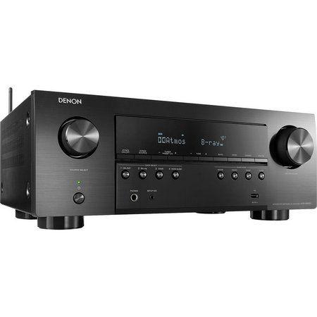 Receiver Denon AVR-X2700H 7.2ch 95W Canal 8K Dolby Atmos e ARC