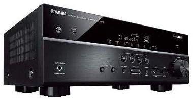 Receiver 5.1ch Yamaha RX-V485 Bluetooth Wi-Fi AirPlay 4K UHD HDR10 Zona B Bivolt