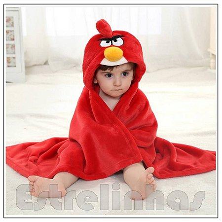 Cobertor c/ Capuz - Angry Birds