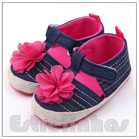 Sapatinho Jeans Pink