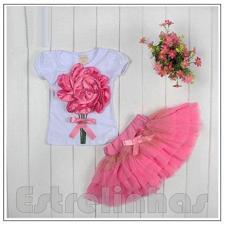 Conjunto Flor do Amor