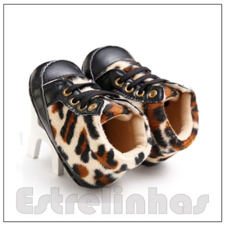 Botinha Leopardo