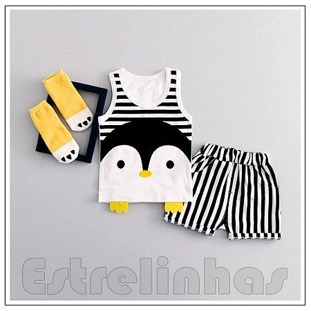 Conjunto Pinguinzinho