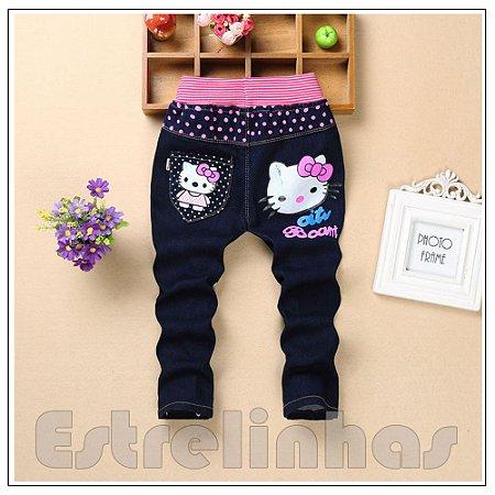 Calça Jeans Kitty