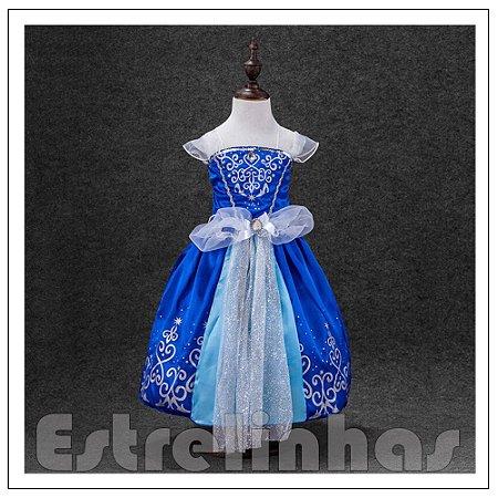 Vestido Princesa Cinderela