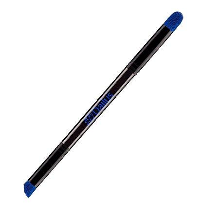 Pincel Double Flat Angled de Precisão e Lápis Grande Nº 09 – Dailus