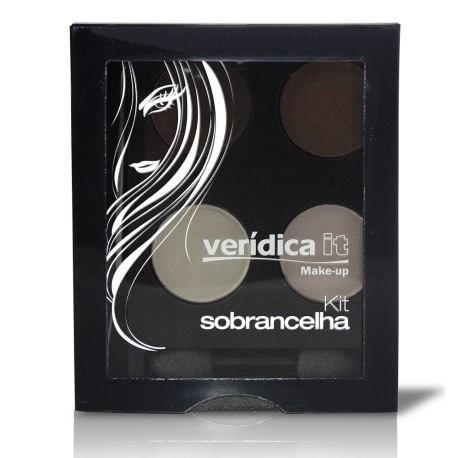 Kit Para Sobrancelha Com 4 Cores -  Veridica it