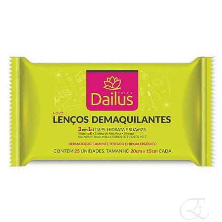 Lencos Demaquilantes 25 Unidades - Dailus