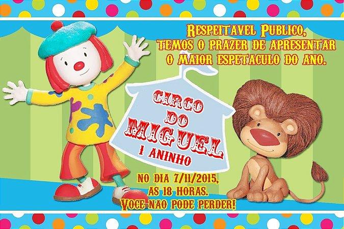 Convite digital personalizado O Circo da Jojô 003