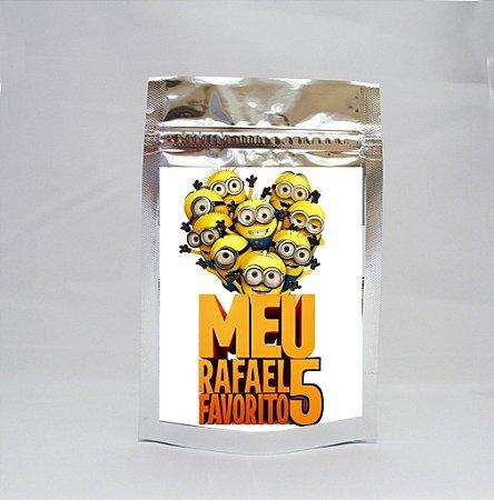 Saco Metalizado Minions 004
