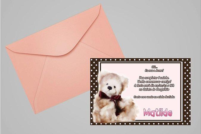 Convite 10x15 Primeiro Aniversário 022