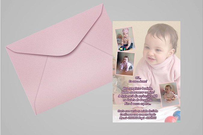 Convite 10x15 Primeiro Aniversário 026