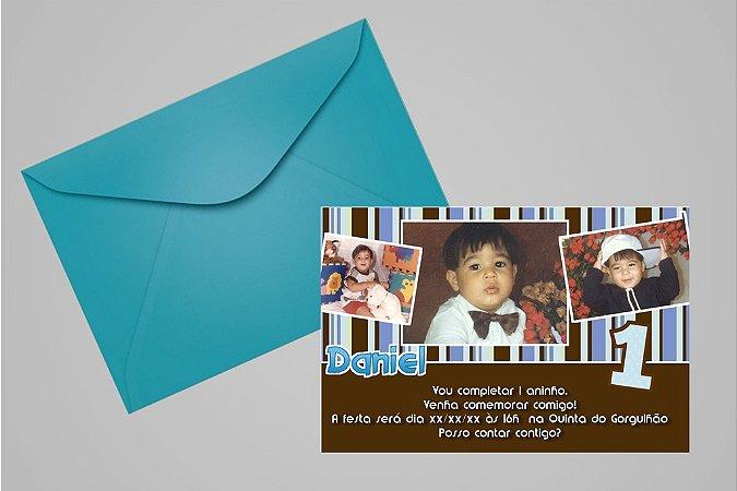 Convite 10x15 Primeiro Aniversário 093