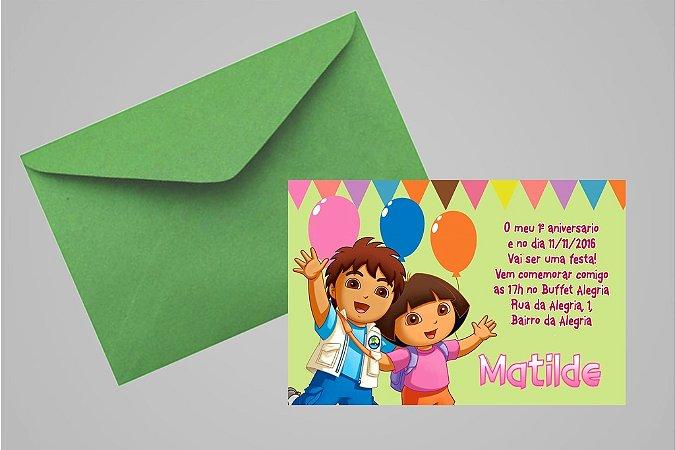Convite 10x15 Primeiro Aniversário 103