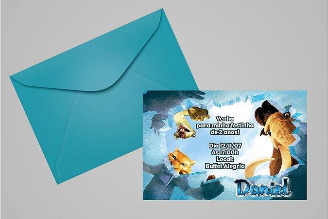 Convite 10x15 A Era do Gelo 001