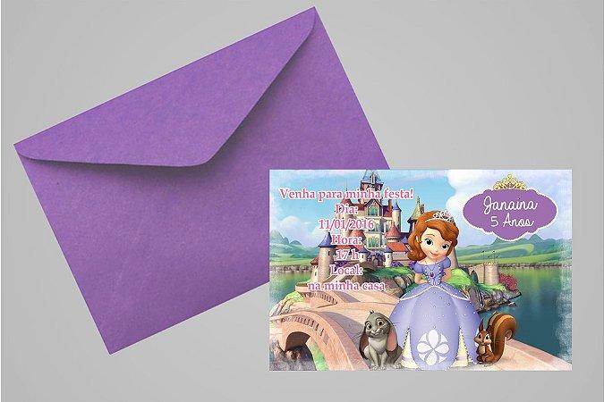 Convite 10x15 Princesa Sofia 004