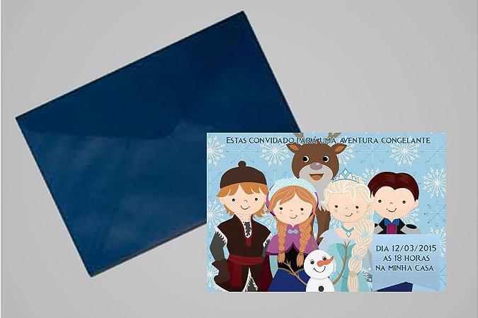 Convite 10x15 Frozen 010