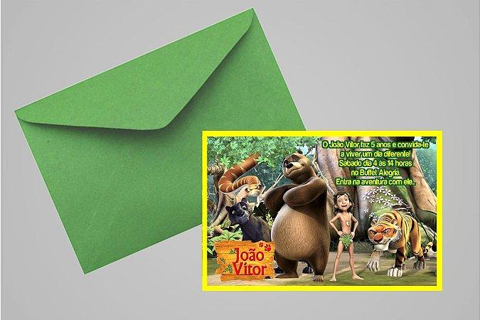 Convite 10x15 Mogli, O Menino Lobo 006