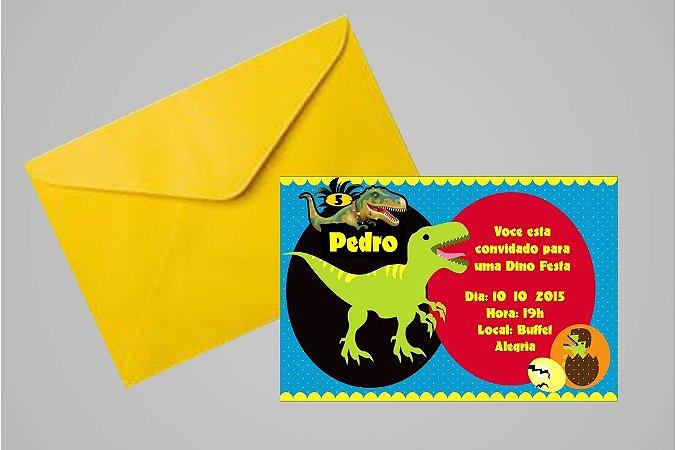 Convite 10x15 Dinossauros 002