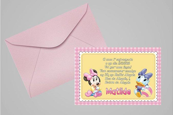 Convite 10x15 Baby Disney 011