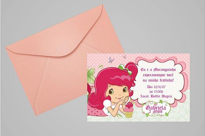 Convite 10x15 Moranguinho 092