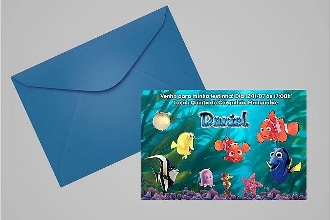 Convite 10x15 Procurando Nemo 009