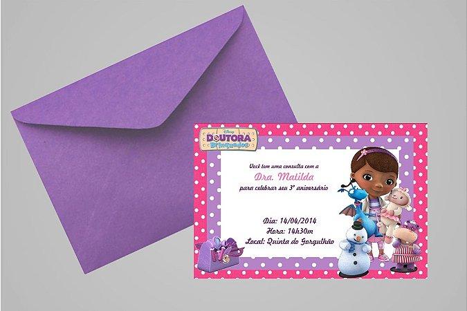 Convite 10x15 Doutora Brinquedos 005