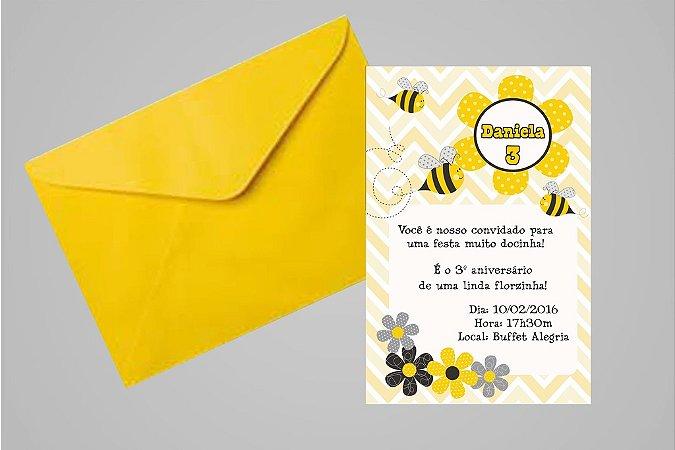 Convite 10x15  Abelhas 006