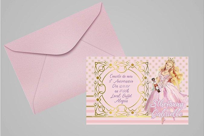 Convite 10x15 Barbie 031