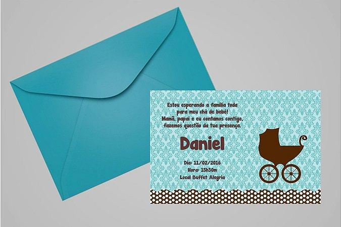Convite 10x15 Chá de Bebê 022