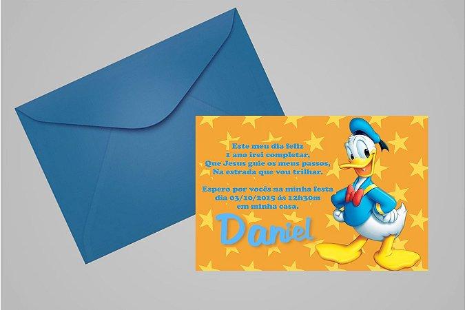 Convite 10x15 Donald 003